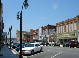 Downtown Claremore OK